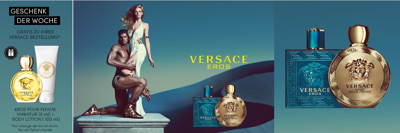 Versace Eros und Versace Eros pour Femme - jetzt entdecken