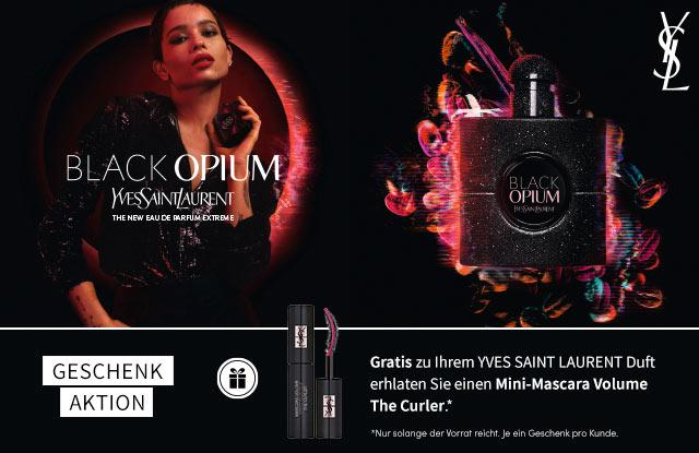 Neu: YVES SAINT LAURENT Black Opium Extreme - jetzt entdecken