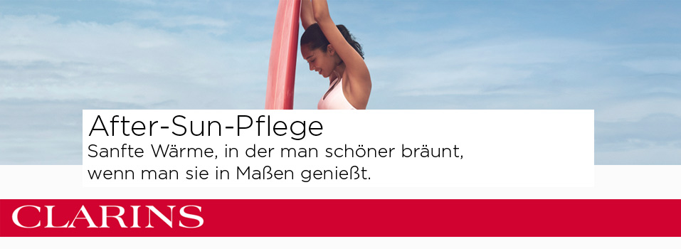 Clarins After-Sun-Pflege