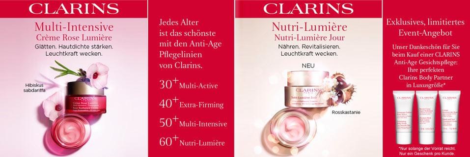 Clarins Anti-Aging-Pflege
