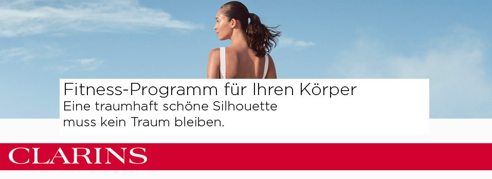 Clarins Fitness-Programm