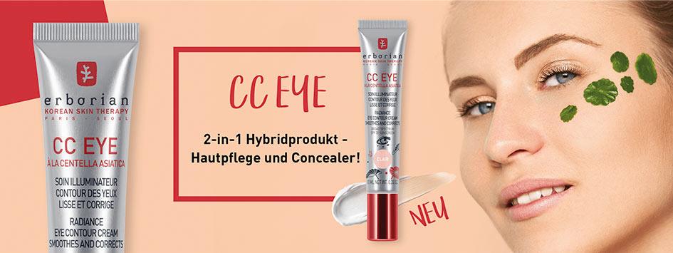ERBORIAN CC EYE - Concealer + Augenpflege