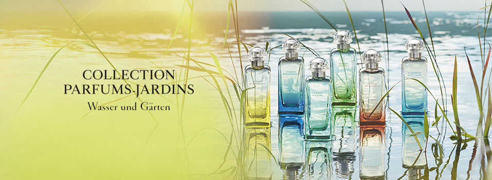 Kollektion Parfum Gärten