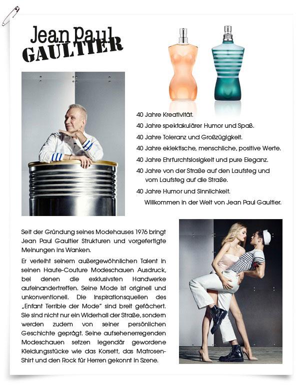 Jean Paul Gaultier - Der Designer