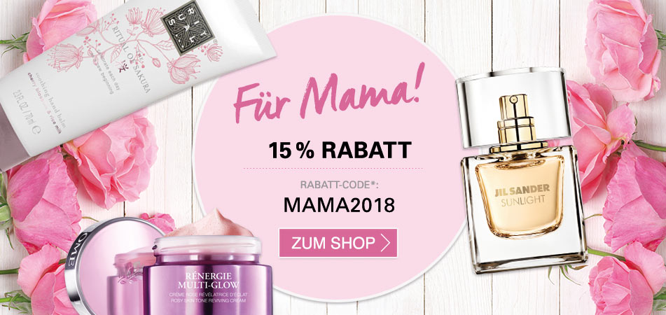 15 % Muttertags-Rabatt