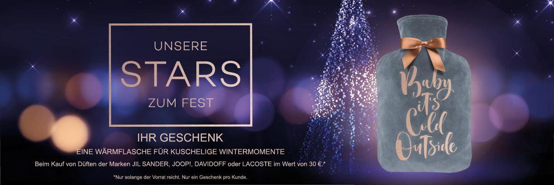 Unsere Stars zum Fest - jetzt Geschenk sichern