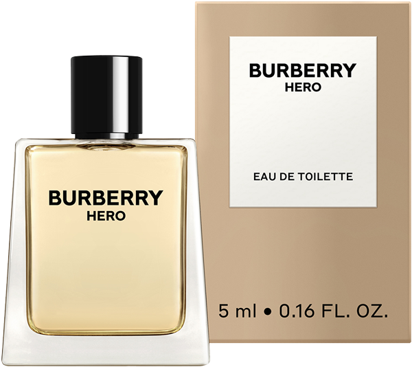 Gratis BURBERRY Hero Eau de Toilette Miniatur (5 ml) - jetzt sichern