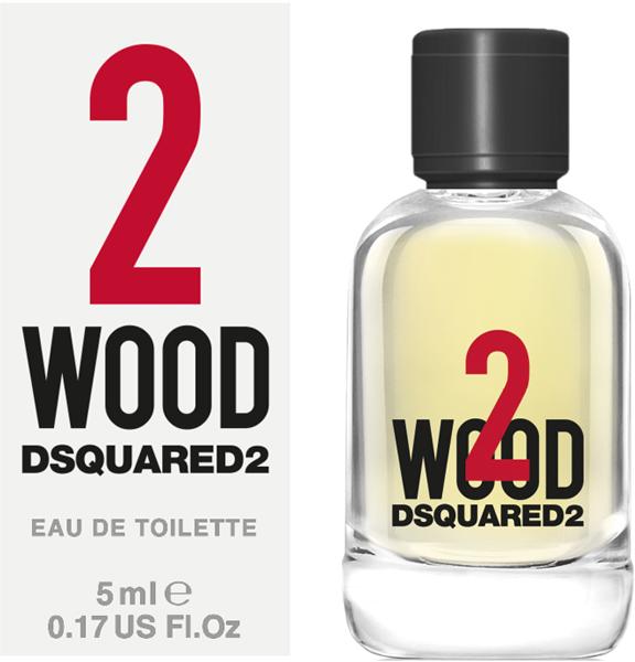 Gratis DSQUARED2 PERFUMES 2WOOD Miniatur - jetzt sichern