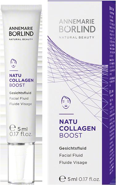 Geschenk der Woche: ANNEMARIE BÖRLIND Natu Collagen Boost Gesichtsfluid (5 ml) - jetzt sichern