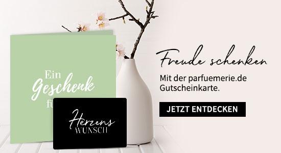 parfuemerie.de Gutscheinkarte - jetzt shoppen