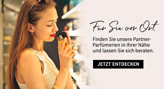 Storefinder - jetzt Partner-Parfümerie in Ihrer Nähe finden
