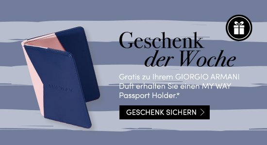 Gratis GIORGIO ARMANI My Way Passport Holder