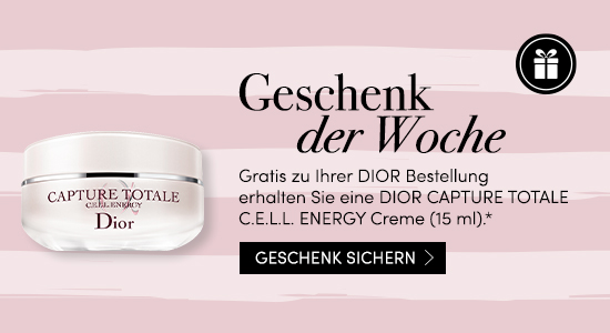 Gratis DIOR CAPTURE TOTALE C.E.L.L. ENERGY Creme (15 ml)